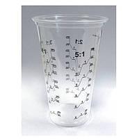 Мерный стакан для смешивания краски, лаков, грунтовок АРР. 500 мл.