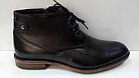 CONHPOL мужские кожанные осенние ботинки коричневого цвета