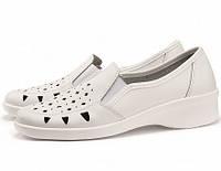 Туфли женские белые, фото 1