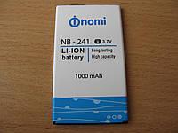 Аккумулятор Nomi i241 NB-241 новые (1000 mAh) оригинал