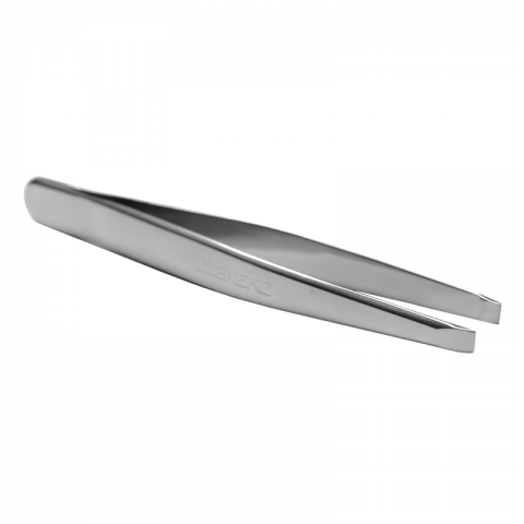 Сталекс (П-06/T4-10-01) Пинцет для бровей (широкие прямые кромки)