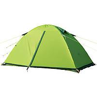 Палатка ультралёгкая 2-х местная NatureHike Ultralight II силикон зелёная NH15Z006-P
