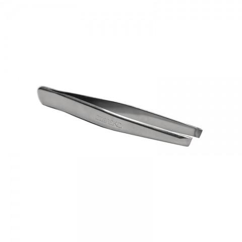 Сталекс (П-07/T4-10-02) Пинцет для бровей (широкие скошенные кромки)