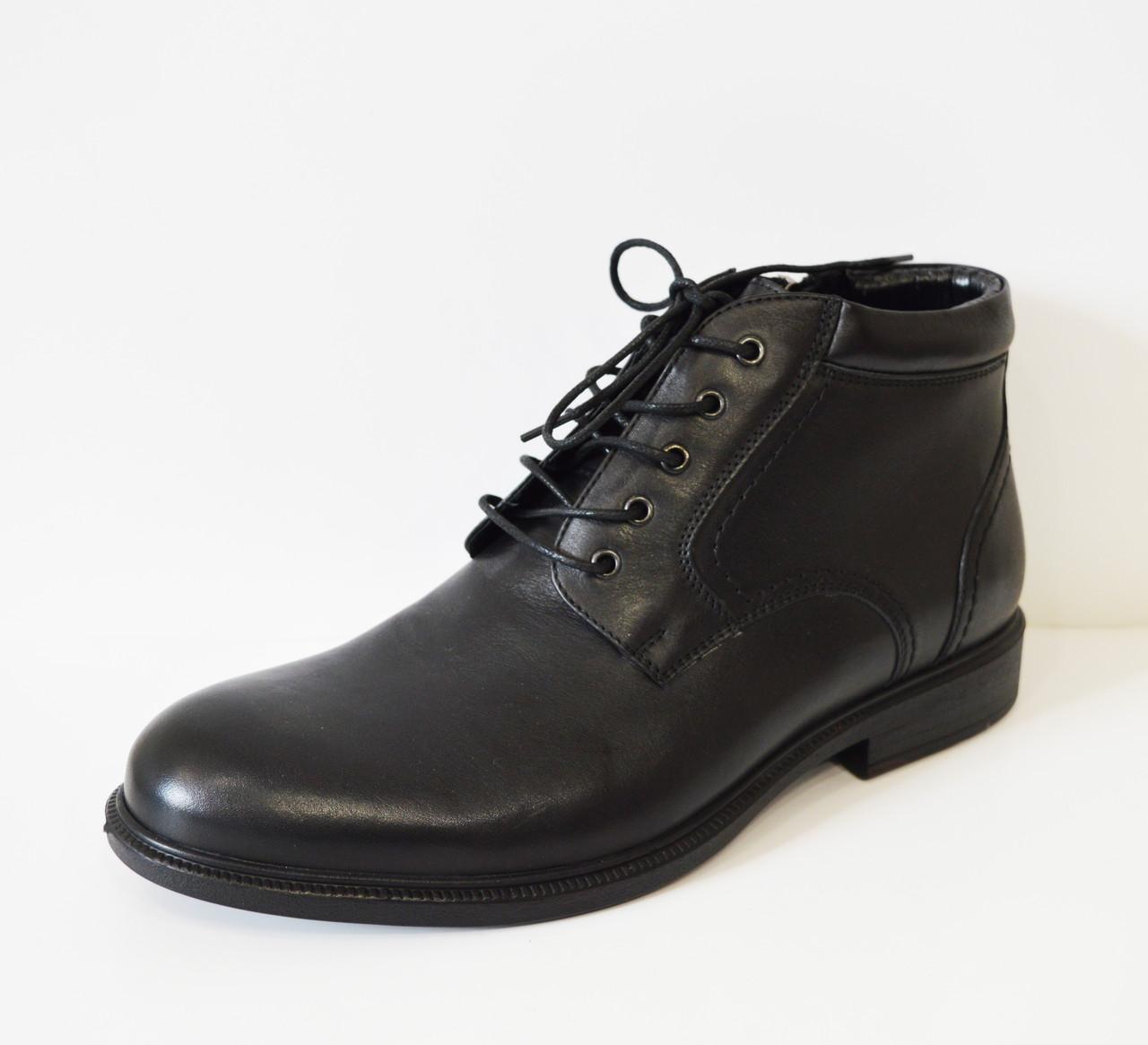 Мужские черные ботинки Kadar