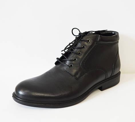 Мужские черные ботинки Kadar, фото 2