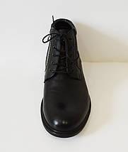 Мужские черные ботинки Kadar, фото 3