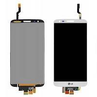 Дисплей для LG D802 G2/D805 + touchscreen, белый,