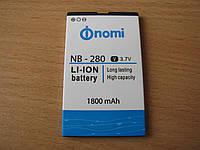 Батарея Nomi i280 NB-280 (1800 mAh) оригиал