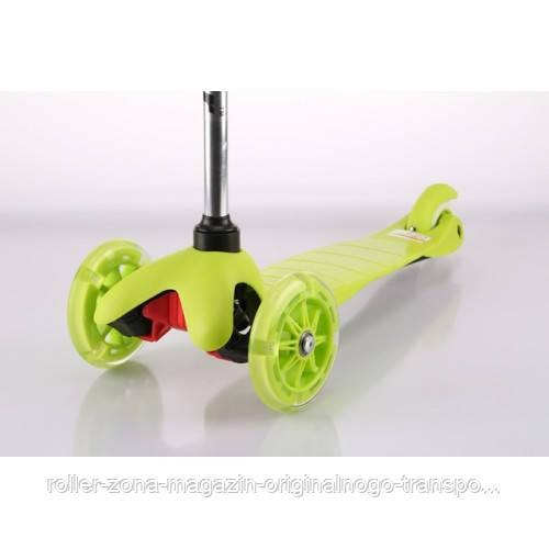 Самокат Trolo Mini LIMITED (light green) Со свет. колесами