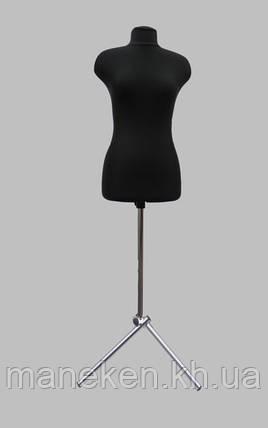 Манекен выставочный Марина в ткани для триноги р44, фото 2