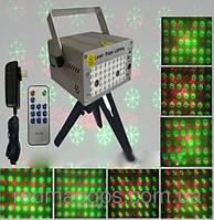 Лазерный проектор со стереодинамиками и MP3-плеером XL-03