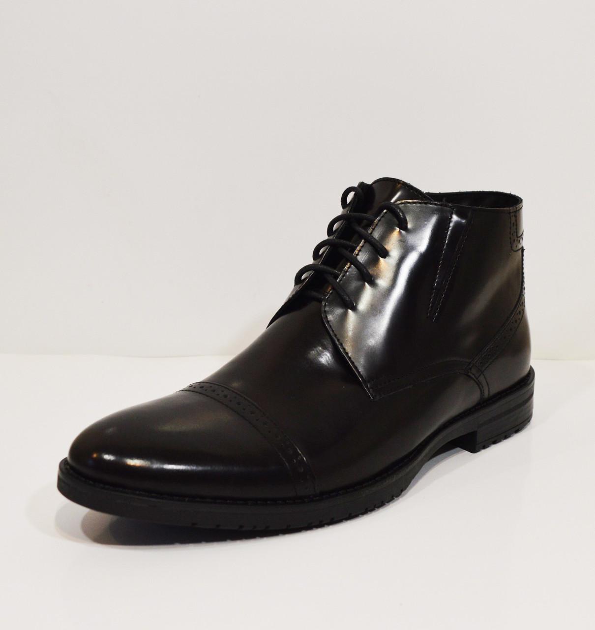 Темно-коричневые мужские ботинки Faber 772403