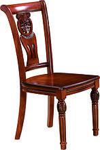 Стілець дерев'яний з жорстким сидінням