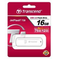 Флеш-драйв TRANSCEND JetFlash 730 16 GB USB 3.0 Белый