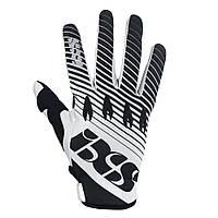 Мотоперчатки IXS Raton черный белый L