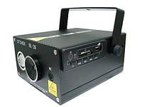 Лазерная установка HL-26 с USB, лазерный проектор цветомузыка