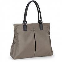 Женская сумка Dolly 463 классическая под формат А-4 цвет черный и хаки
