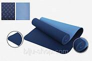Килимок для йоги LOTUS, двосторонній, 183х61 см, 6 мм, фото 3