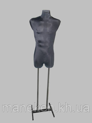 Манекен объемный Давид в ткани к подставке, фото 2