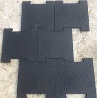 Резиновое модульное покрытие с повышенной износостойкостью., фото 1