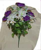 С-34 Лилия+роза+орхидея 13 гол
