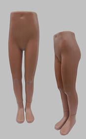 Манекен объемный ноги детские на подставке