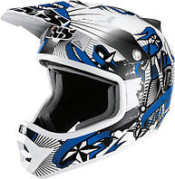 Мотошлем IXS HX 274 Ink черный синий серебро M
