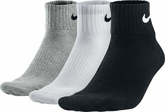 Носки СПОРТИВНЫЕ Nike (5 пар) черные