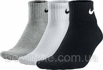 Носки СПОРТИВНЫЕ Nike (5 пар) серый