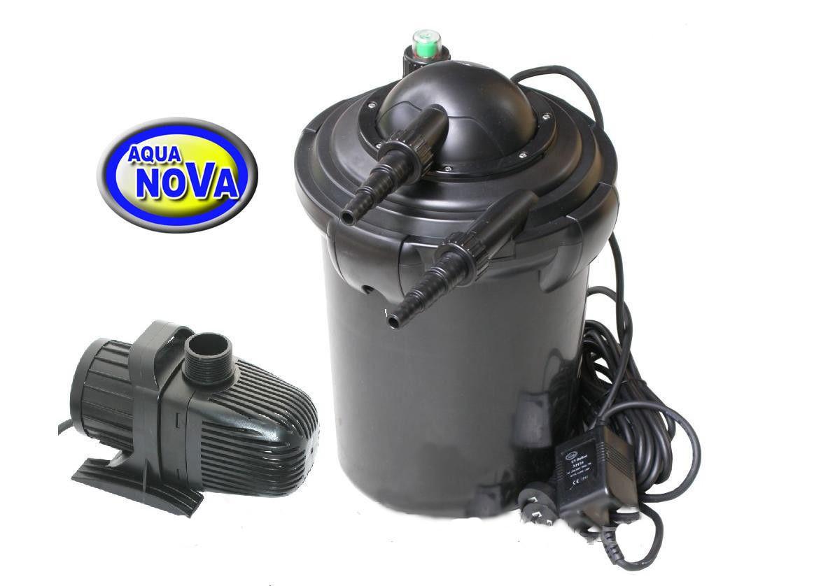 Фильтровальный комплект для пруда AquaNova 8000