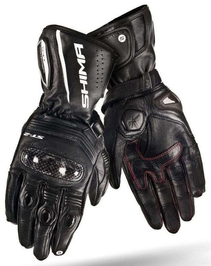 Мотоперчатки женские Shima ST-2 черные XS