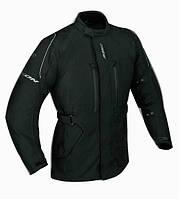 Куртка длинная SPECIOUS BLACK текстиль 05-M, арт. E4045H