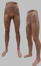 Манекен объемный ноги  мужские Юра на подставке