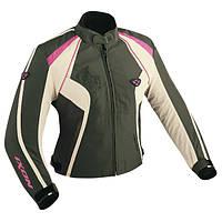 Куртка женская CAPRICIOUS KAKHI/PINK текстиль 03-XS, арт. E4306F