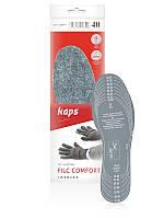 Теплые самовырезные стельки Kaps Filc Comfort