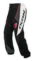 Брюки IXON OPTIC black/white/grey/red текстиль E5700H 06-L, арт. E5700H