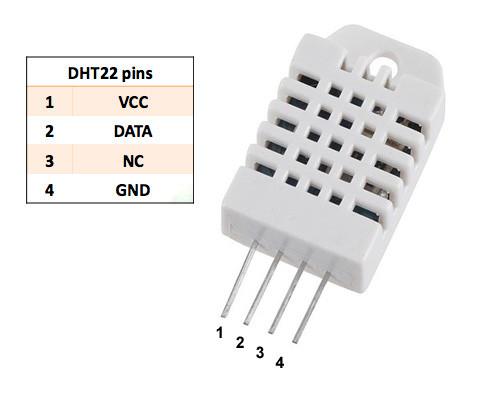 DHT22 термометр и гигрометр датчик влажности и температуры