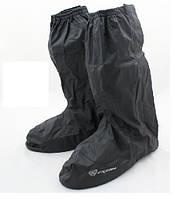 Дождевые бахилы полная подошва черные 06-L E7000H