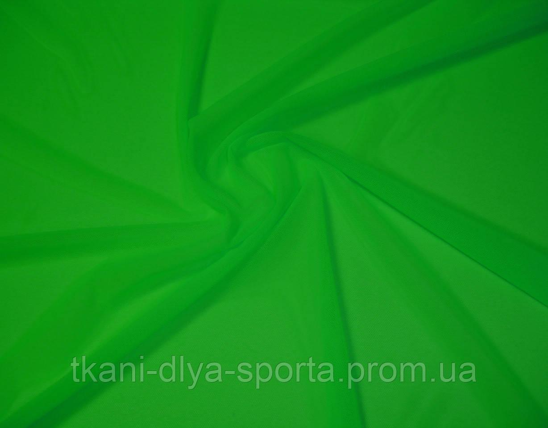 Стрейч-сетка ярко-зеленая