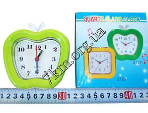 """Настольные часы для дома средние """"Яблочко"""" + подсветка (8127) Оптом."""