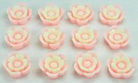 Кабашоны квіточки 50шт Ф1,1см рожеві 7-5