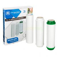 Комплект картриджей FP3-K1-CRT для систем Aquafilter (FP3-K1, FP3-HJ-K1,FP3-2)