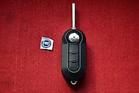 Fiat doblo, ducato, fiorino корпус выкидного ключа 3 кнопки АНАЛОГ