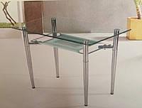 Стол стеклянный С -3 ( обеденный, кухонный)
