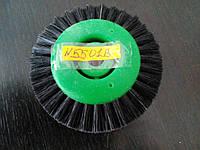 Щетка шлифовальная на пластмассовом диске d-65мм, 3-х ряд.