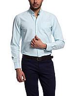 Мужская рубашка LC Waikiki светло-голубого цвета