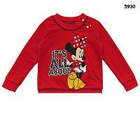 Кофта (реглан) Minnie Mouse для девочки. 90, 100, 120 см