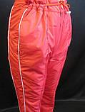 Теплые штаны на флисе женские., фото 3