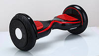 Зимний Гироскутер Внедорожник 10,5 дюймов гироплатформа Smart Way (смартвей, мини сигвей,черный)