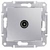 Механизм розетки TV конечной алюминий Schneider Electric Sedna